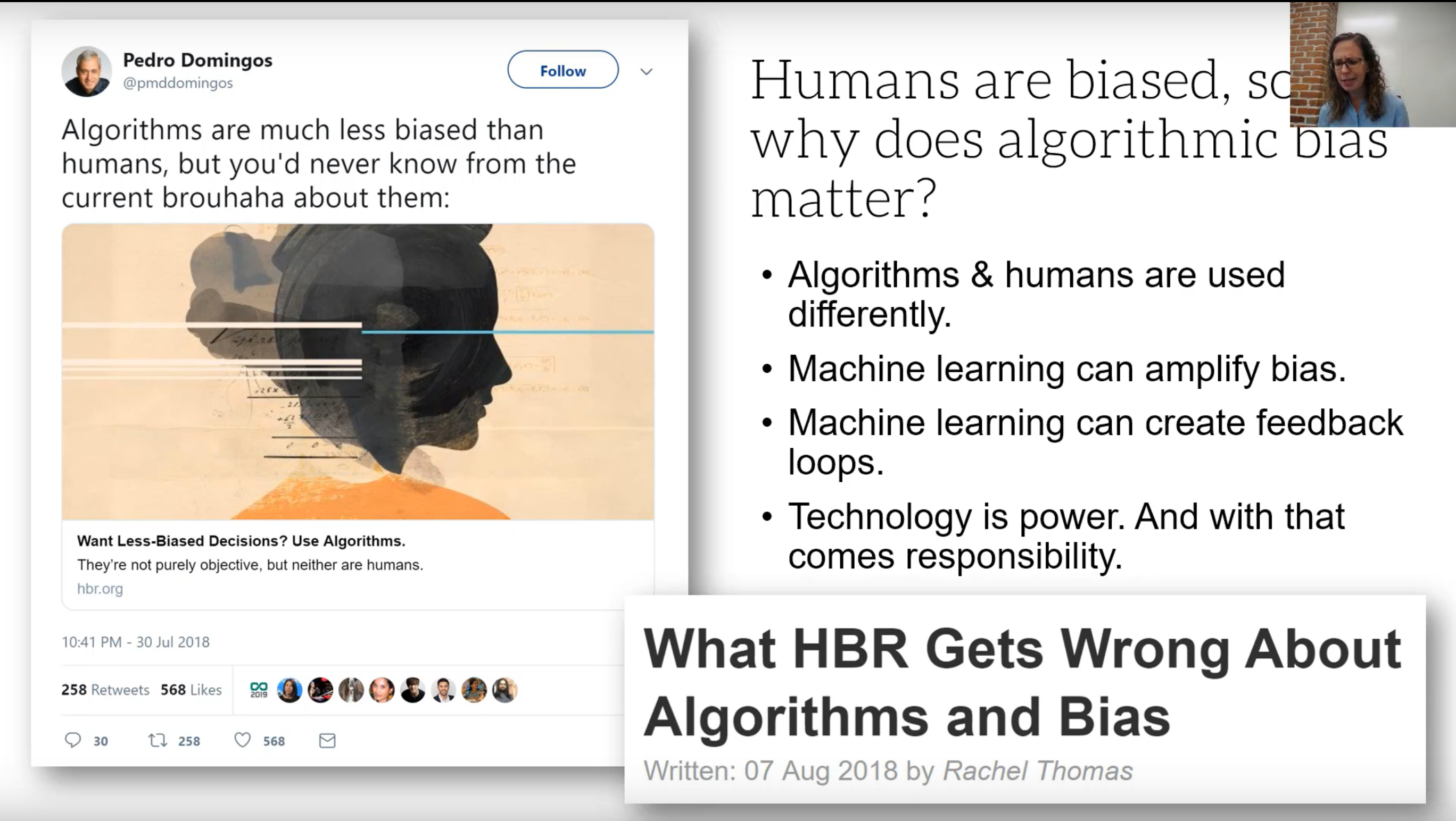 On why algorithmic bias matters, different types, and steps towards addressing it